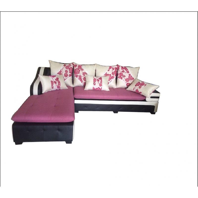 Bộ Sofa phòng khách khung gỗ dầu AMA-BS-12