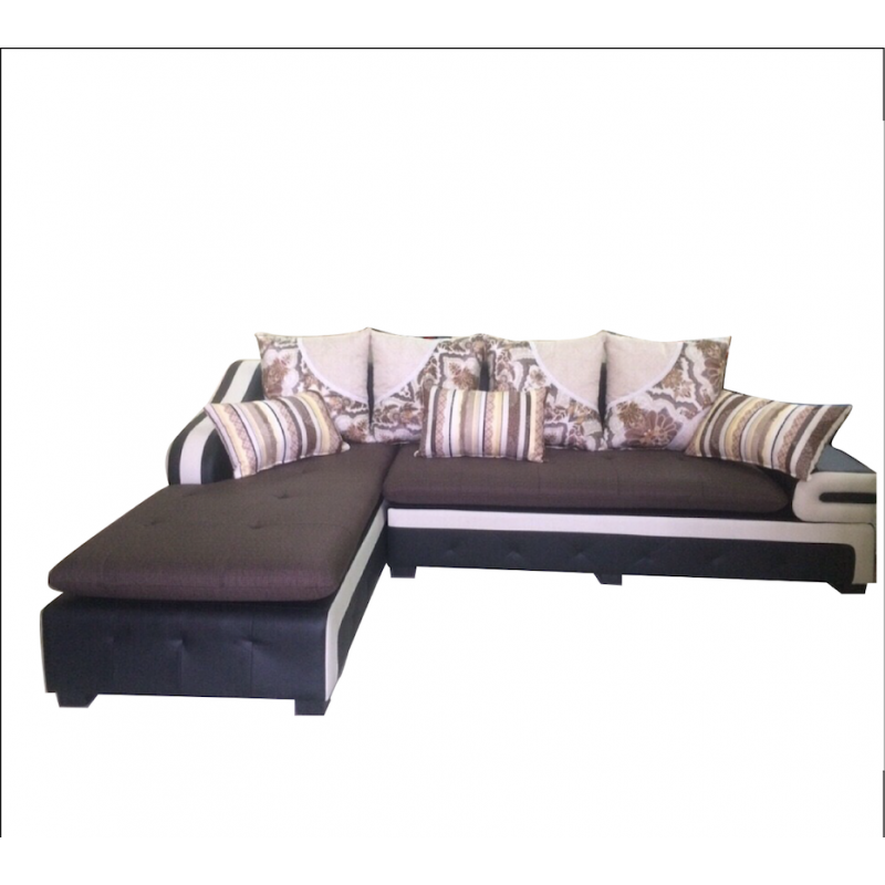 Bộ Sofa phòng khách khung gỗ dầu AMA-BS-18