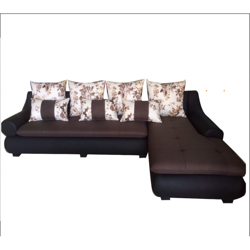 Bộ Sofa phòng khách khung gỗ dầu AMA-BS-19