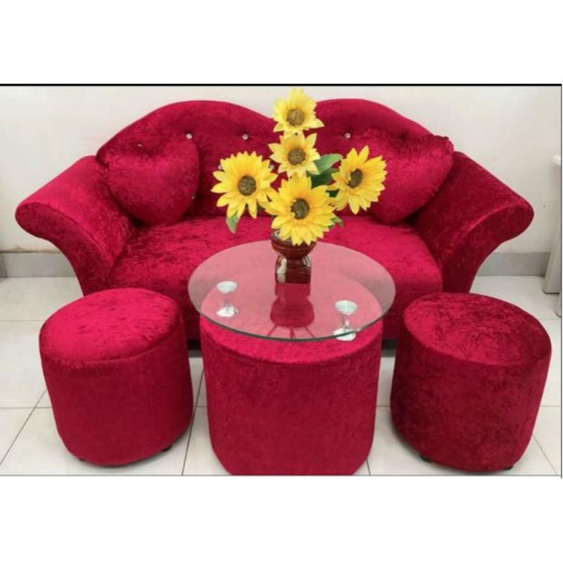 Bộ Sofa AMA Furniture MNBS-LOVE-V4 (đỏ)