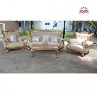 Bộ sofa cổ điển cho biệt thự villa spa khách sạn resort MS-AMA1014-U