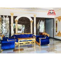 Bộ sofa cổ điển gỗ tự nhiên sofa tân cổ điển sofa khách sạn spa MS-AMA1002-V8